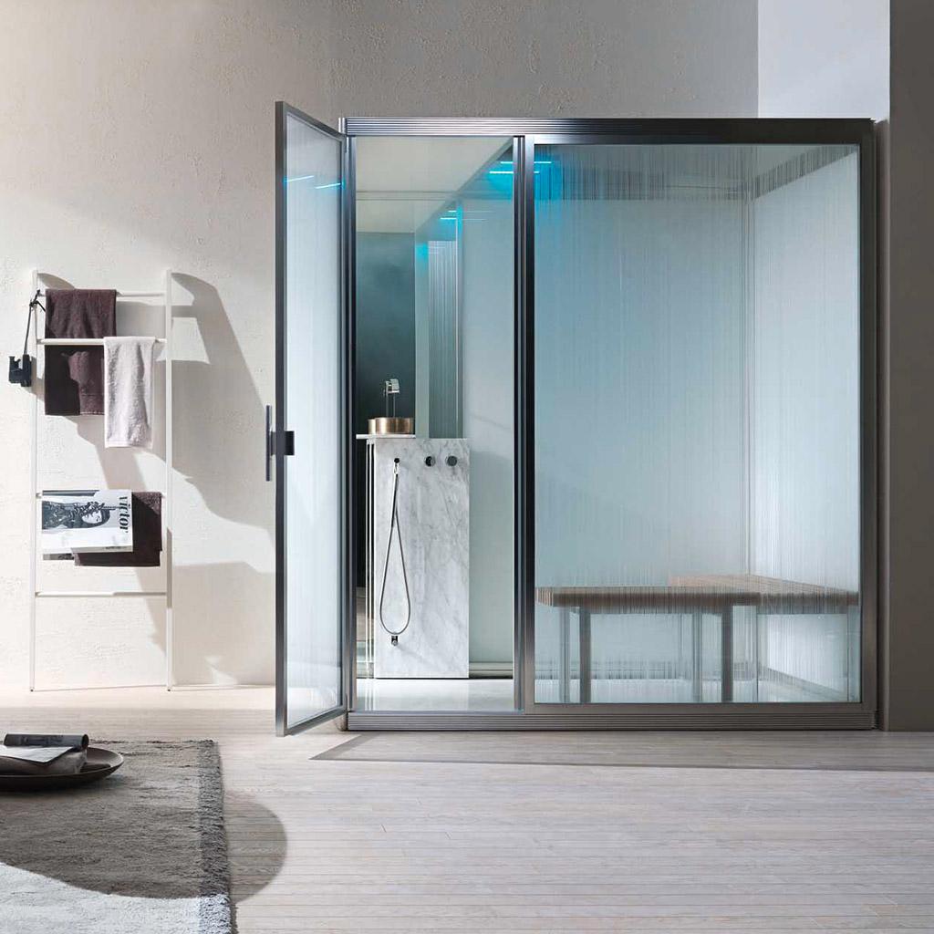 Cabine per bagno turco precostruite e soluzioni combinate