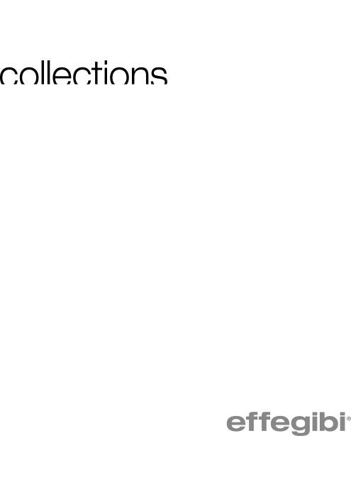 Catalogo Effegibi Collections 2015