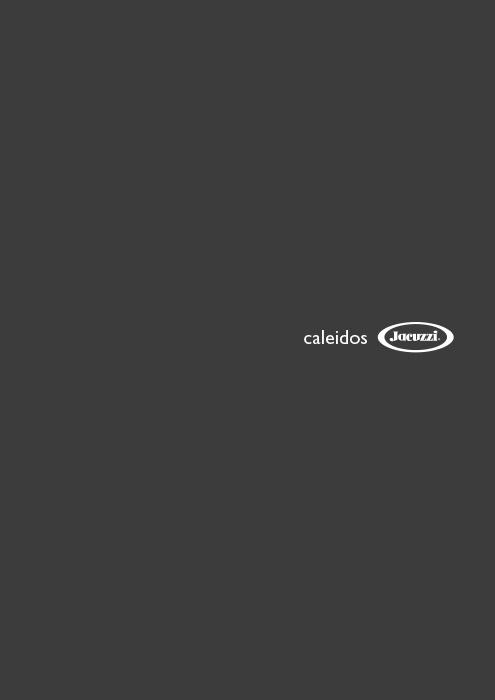 Catalogo Jacuzzi doccia emozionale Caleidos